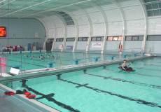 Шарнирная перегородка в бассейн